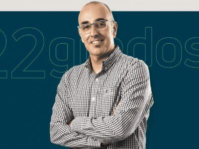 Eladio Bombín, socio fundador de 22grados